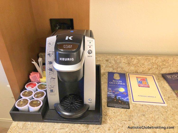 Disney Coronado Springs Resort Tips for Families joffrey coffee pods
