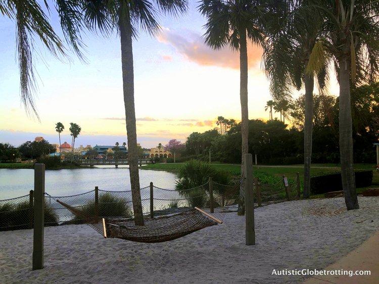 Disney Coronado Springs Resort Tips for Families hammocks