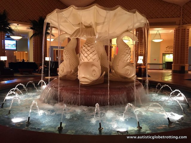 Family Friendly Stay at the Walt Disney World Dolphin Hotel water