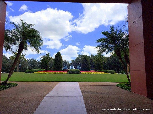 Family Friendly Stay at the Walt Disney World Swan Hotel sky