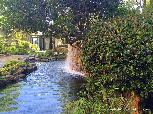 Family Stay at the DoubleTree Los Angeles garden