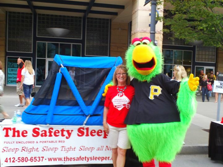Q&A with Rose Niehaus Morris of the 'Safety Sleeper Bed' fair