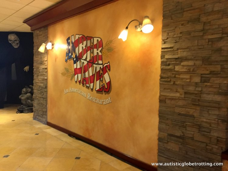 The Knott's BerryFarm Hotel is great for Families dining