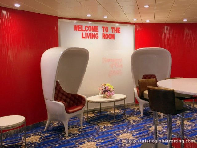 The Autism Friendly Harmony of the Seas chair