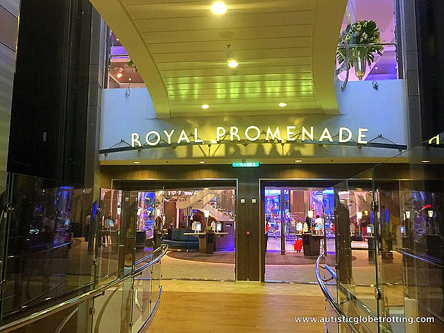 The Autism Friendly Harmony of the Seas gold
