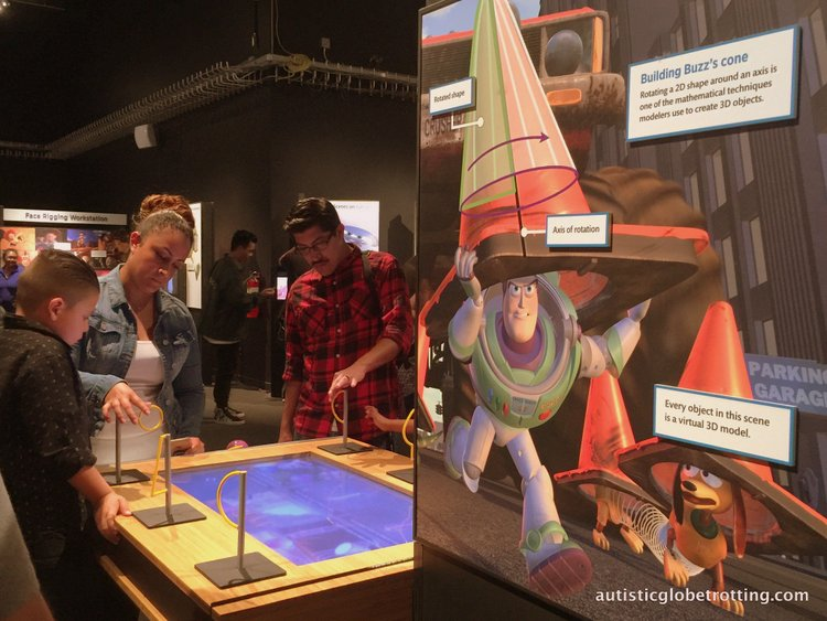 Exploring the California Science Center with Kids board