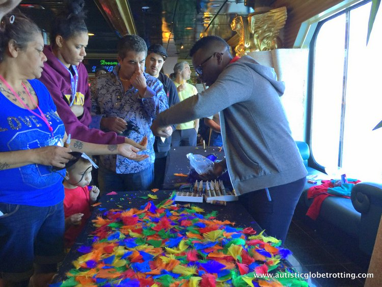 amily Friendly Activities Aboard the Carnival Imagination mardi