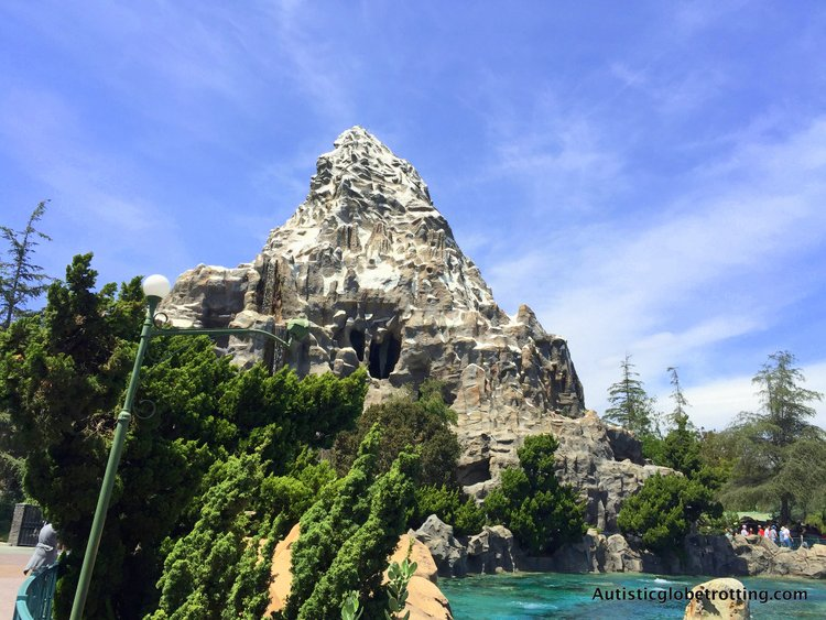 Eight Best Disneyland Thrill Rides for Kids with Autism matterhorn sleds ride