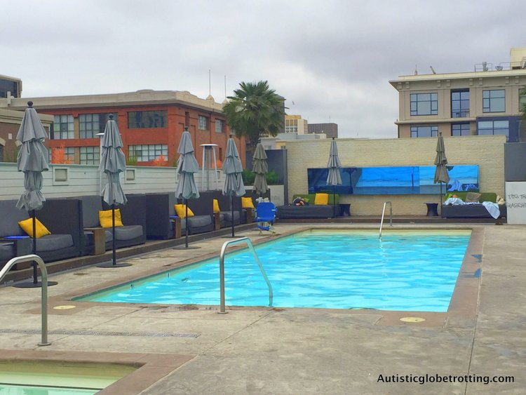 Luxury Stay at the Hard Rock Hotel San Diego pool