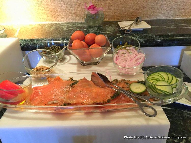 The Ritz-Carlton Orlando Grande Lakes Executive Lounge breakfast