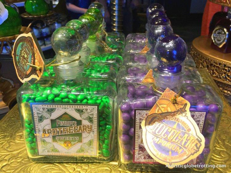 Orlando's Toothsome Chocolate Emporium & Savory Feast Kitchen jars