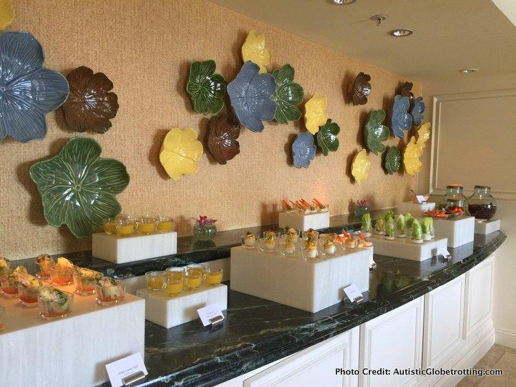 The Ritz-Carlton Orlando Grande Lakes Executive Lounge food