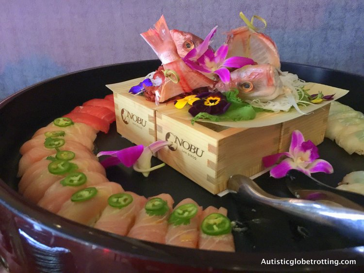 Luxury Stay at the Hard Rock Hotel San Diego sushi
