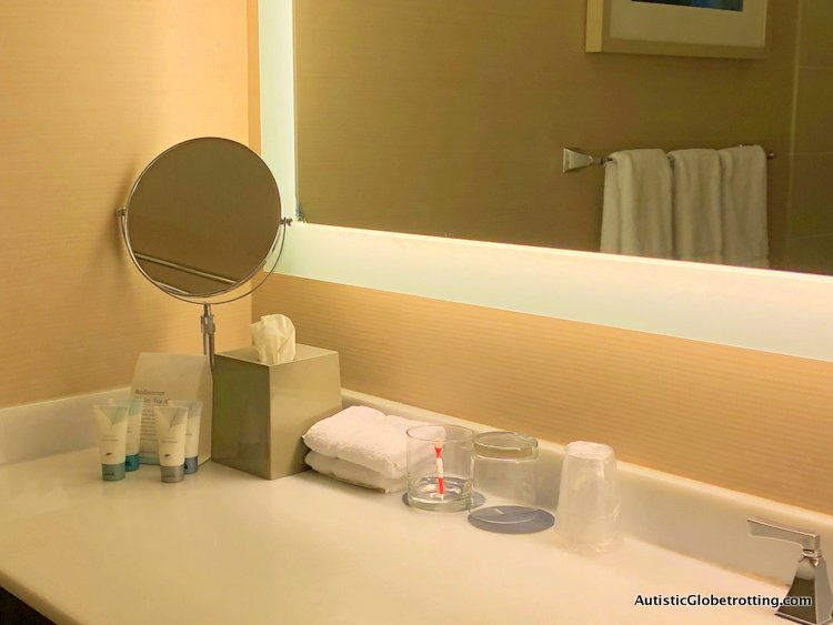 Our Family Friendly stay at the Westin San Francisco Airport Hotel mirror