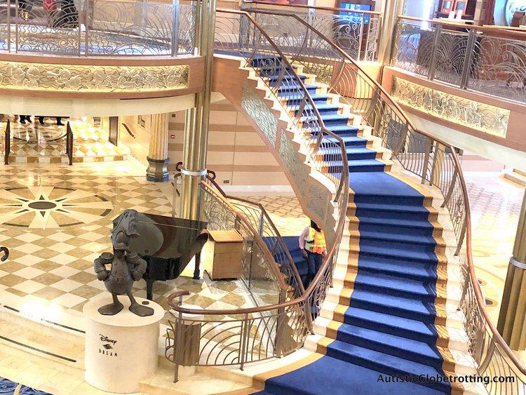 grand entrance disney dream