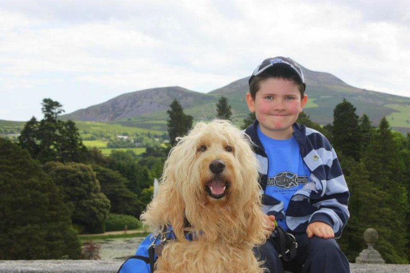 Q&A with Clive -Ireland's Autism Service Dog Extraordinaire mountains