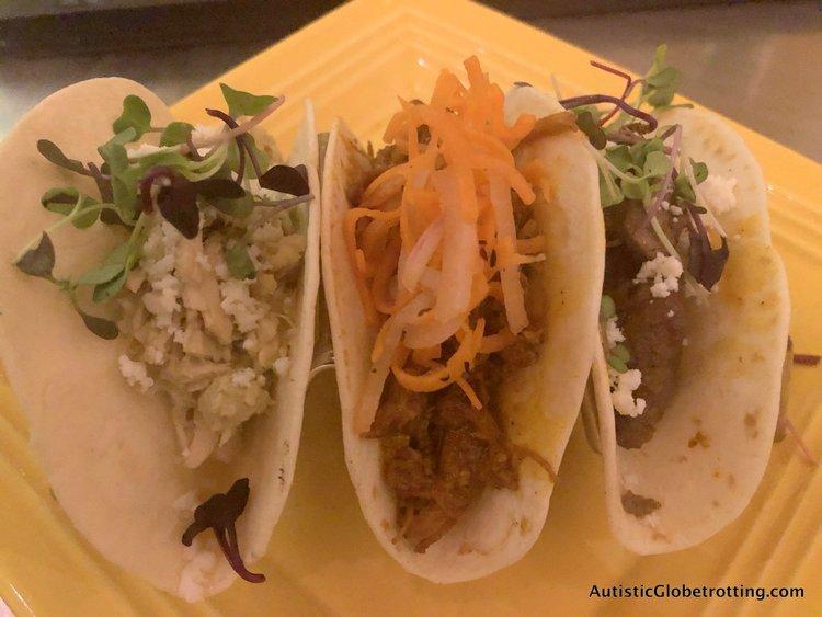Disney Coronado Springs Resort Tips for Families maya grill tacos
