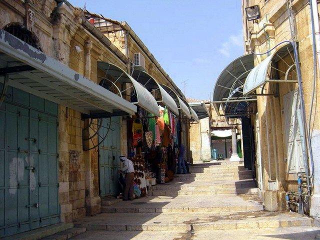 Exploring Jerusalem with Kids market