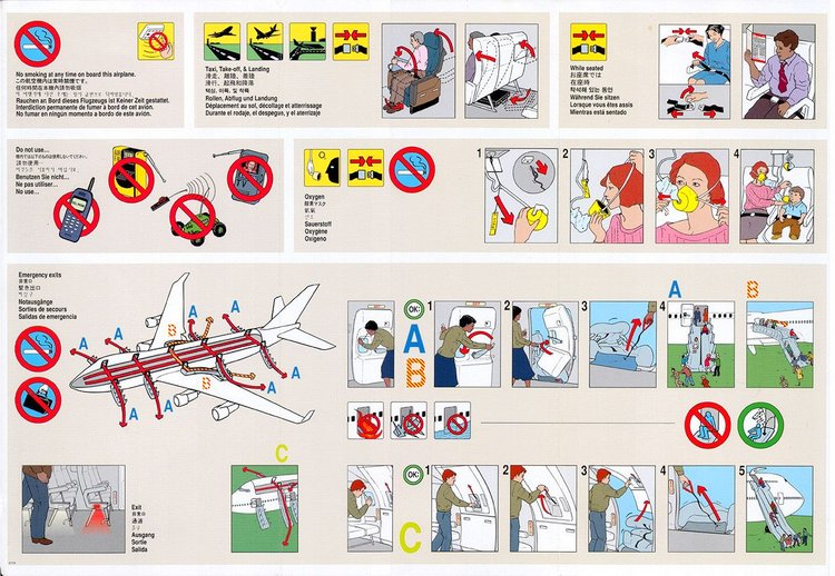 airline safety manual
