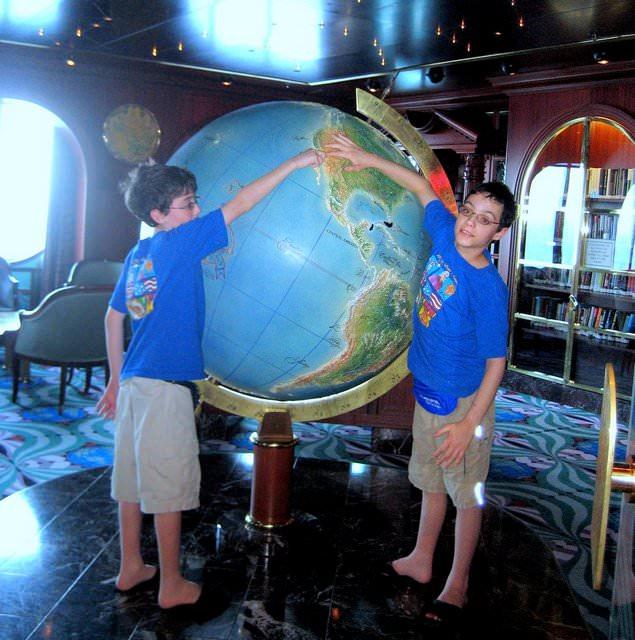 Debunking Autism Travel Myths globe