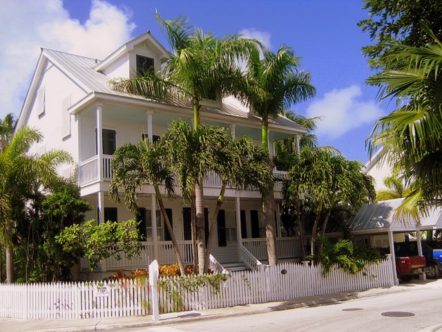 Taking Kids to the Hemingway House Museum house