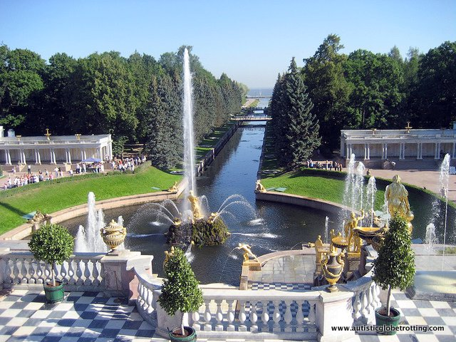 Top Four Destinations in St. Petersburg, Russia outside