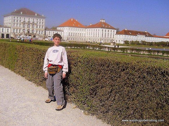 Taking the Family through Munich Germany bush