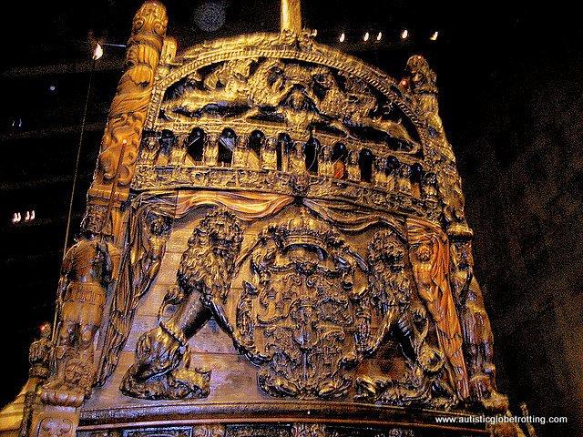 Taking the Family to Stockholm's Vasa Museum art