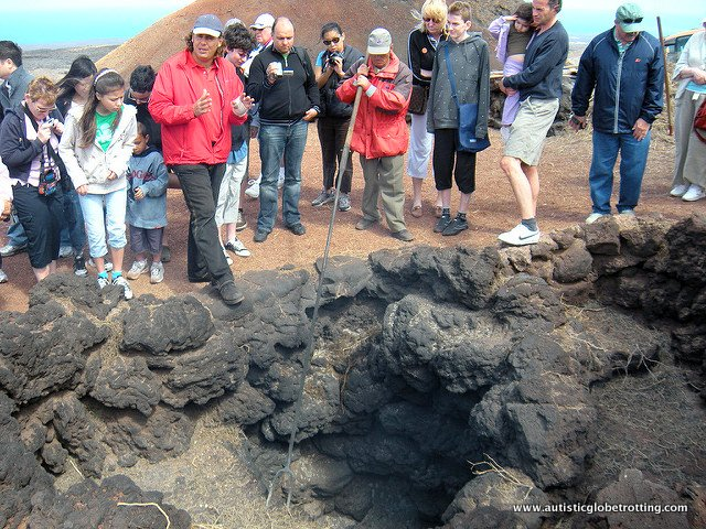 Top Five Family Activities on Lanzarote Island rocks