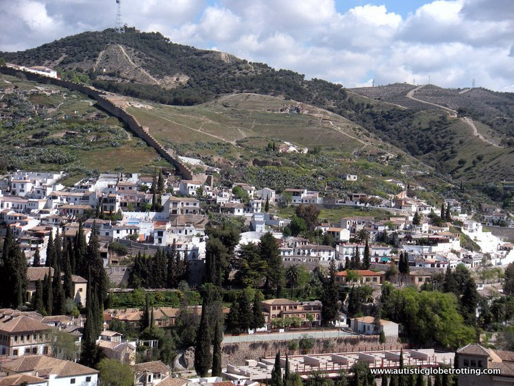 Visiting the Alhambra Palace with Family end