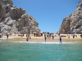Visiting Cabo San Lucas' El Arco With Autistic Kids beach