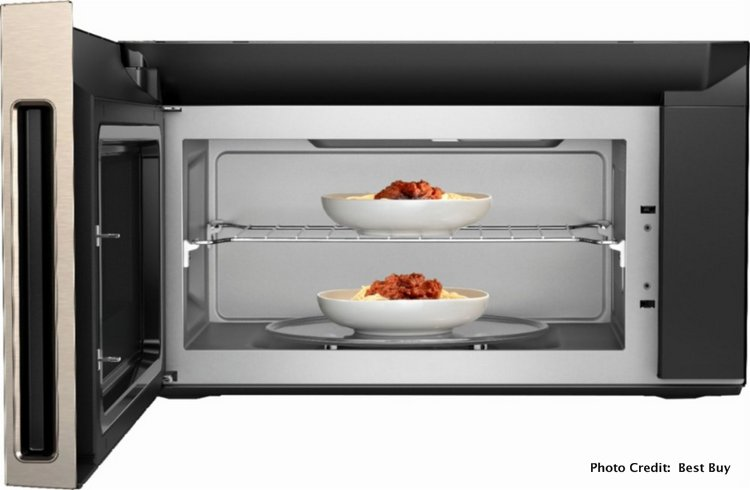 Quick Family Dinners with the Whirlpool Convection Over-the-Range Microwave @BestBuy space