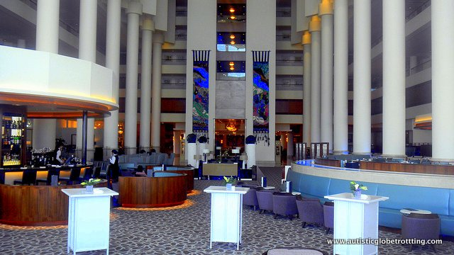 Hotel with the heart of Gold-David Intercontinental Tel Aviv lobby