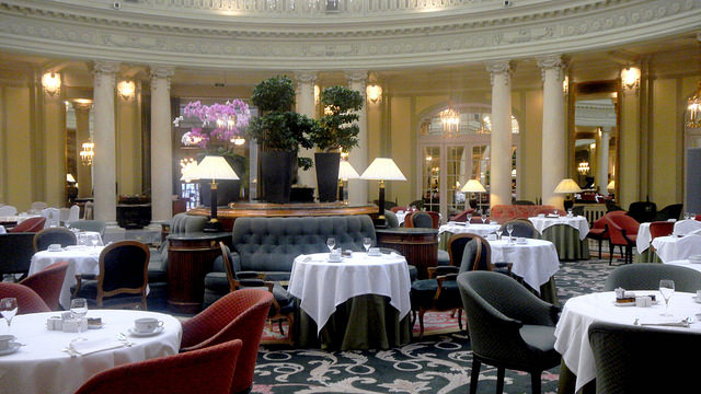 Review of the Westin Palace Madrid Spain restaurant