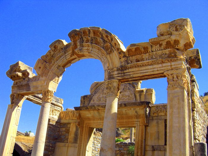 Taking Kids with Autism to Visit Ephesus entrance