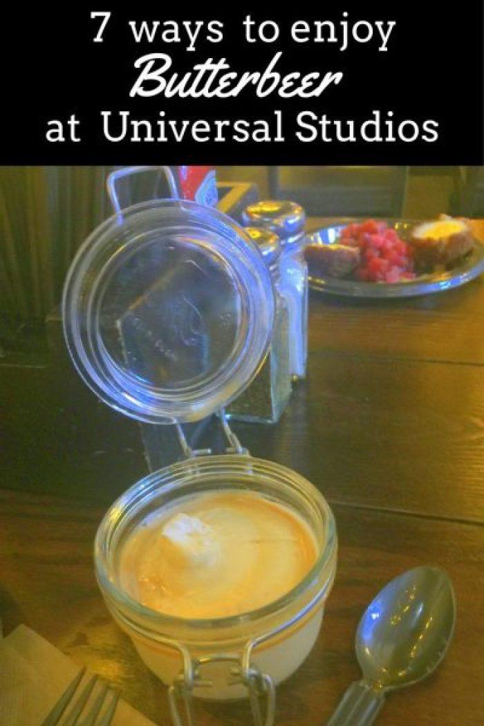 7 Ways to Enjoy Butterbeer at Universal Studios Orlando pin