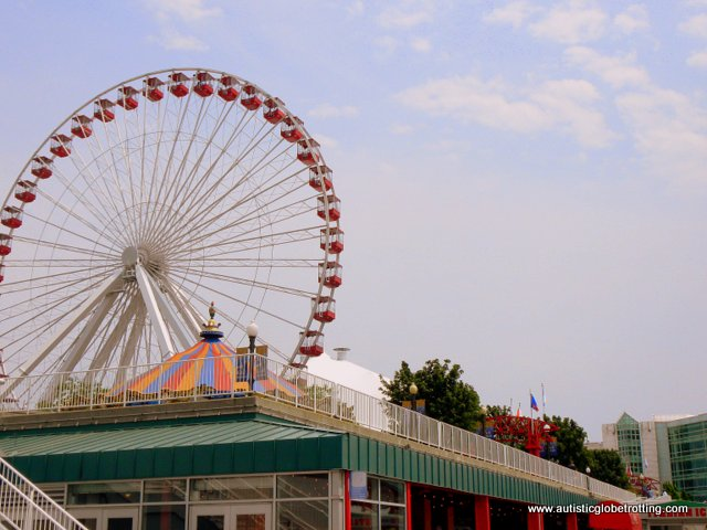 Eight Things to do in Chicago with Kids wheel