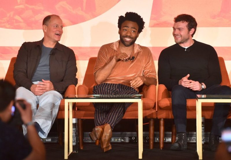 Solo Press Junket:The Resurrection of a Popular Hero woody, donald and alden