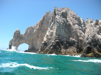 Visiting Cabo San Lucas' El Arco With Autistic Kids postcard