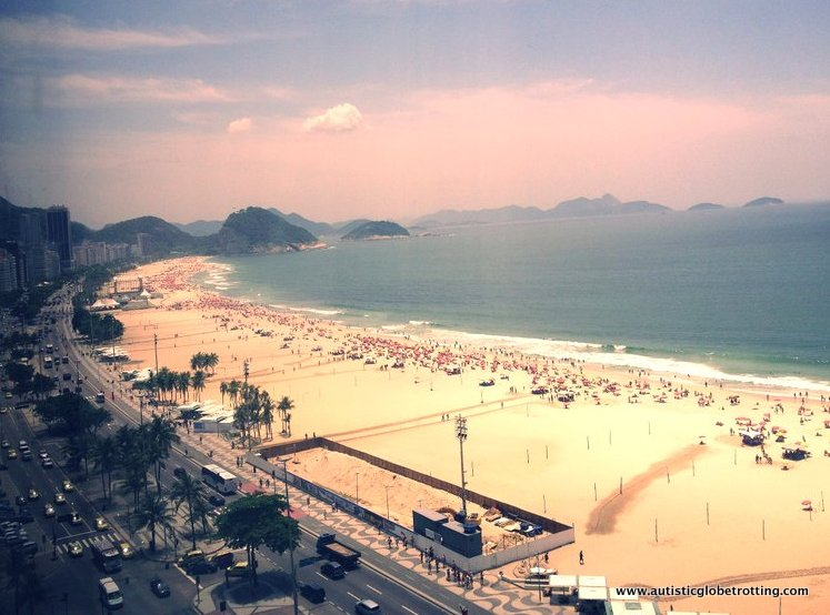 Beachside Relaxation at the JW Marriott Copacabana sunset