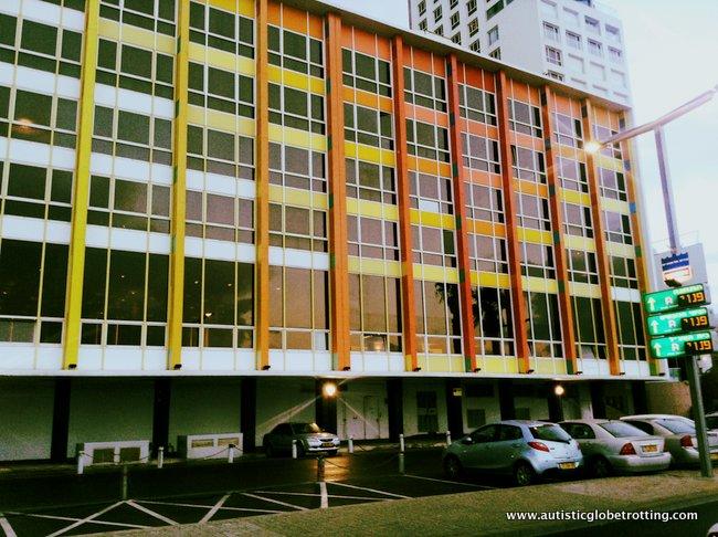 Dan Tel Aviv Hotel Welcomes Families building