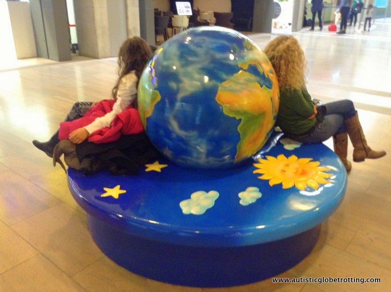 Israel's Ben Gurion Airport with Kids seats