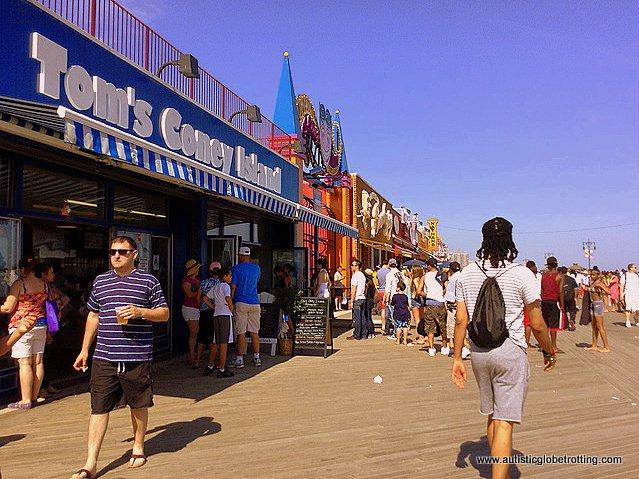 Family Fun on New York's Coney Island shops