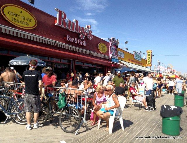 Family Fun on New York's Coney Island RUBY