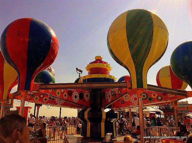 Family Fun on New York's Coney Island balloon