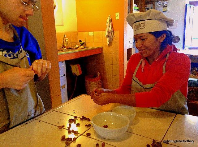 Family Fun at Cusco's ChocoMuseo chef