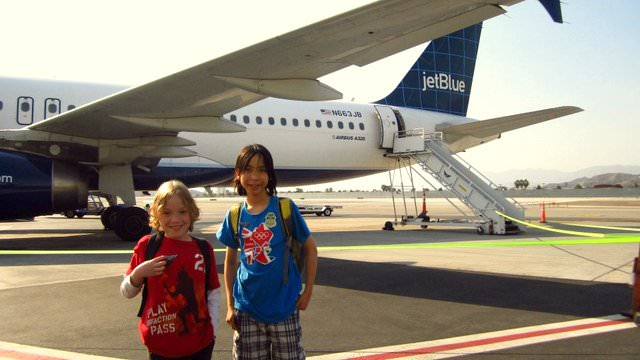 On the benefits of attending JetBlue's 'Wings for Autism'-deplane