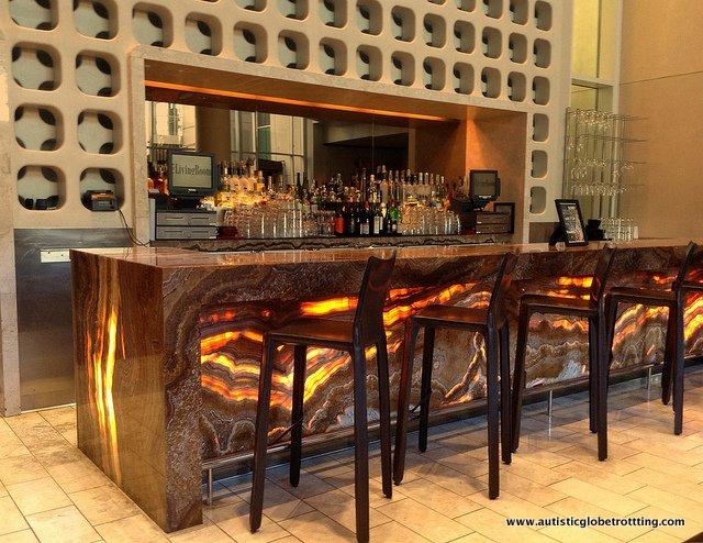 The Family-Friendly W Hollywood Hotel bar