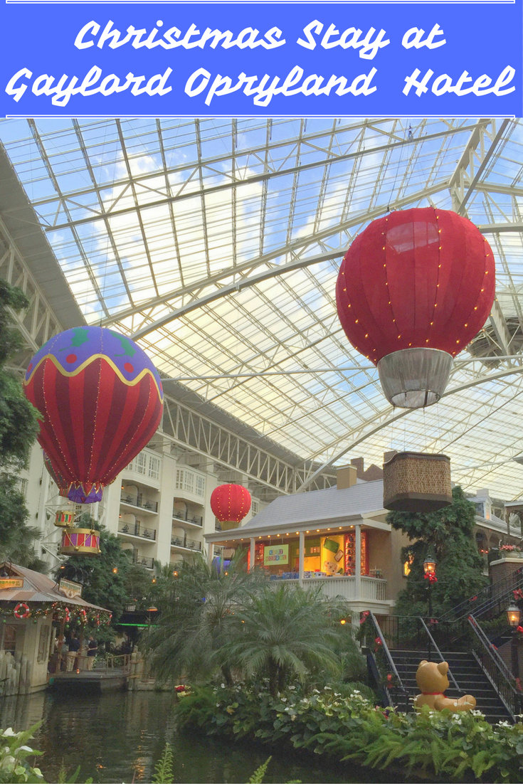 Christmas Stay at the Gaylord Opryland Hotel pin