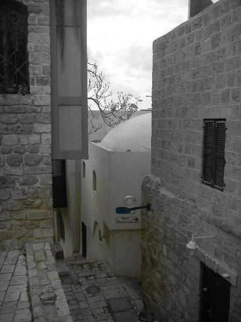 Old Jaffa's narrow alleys Reliving Childhood Memories in Jaffa,Israel